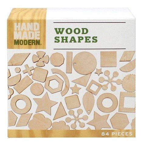 Hand Made Modern – Wooden Diecut – Shapes