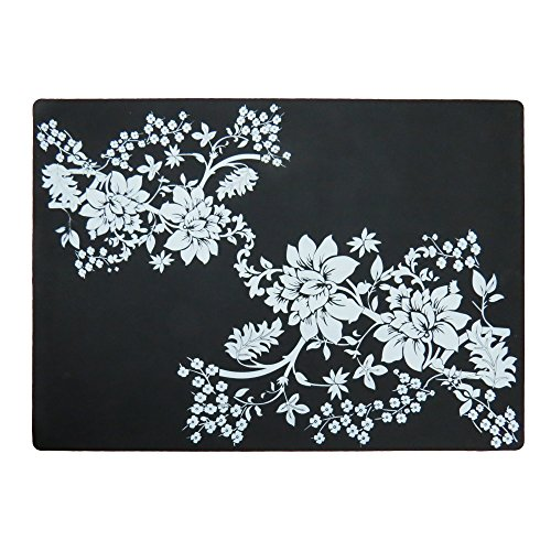 Large Size Silicone Gel Place-mat For Great Dinning Experience, Heat Resistance and (New Large Round Doily)