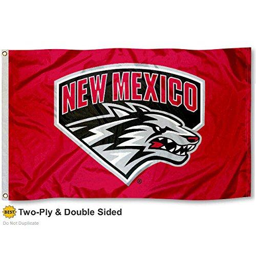 New Mexico Lobos Double-Sided 3x5 Flag
