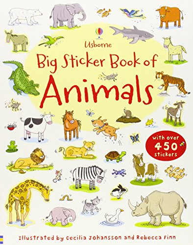 Big Sticker Book of Animals (Usborne First Sticker Books)
