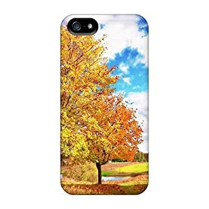 Cute High Case For Quality Case For Ipod Touch 4 Cover Nature Other Autumn Landscape Case