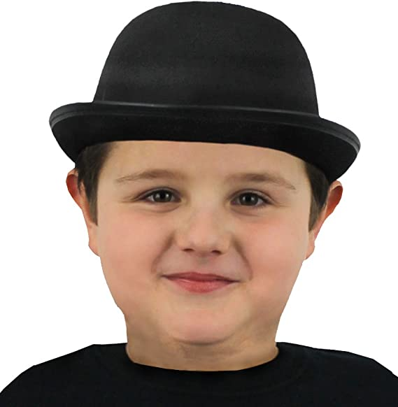 CHILDRENS STRAW BOATER HAT EDWARDIAN SCHOOL CHILD THEATRE DANCE SHOW PERFECT FOR ANY FANCY DRESS PARTY FOR BOYS AND GIRLS