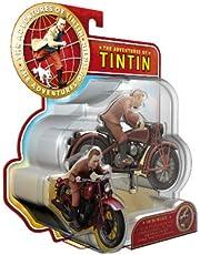 Plastoy The Adventures of Tintin Tintin och motorcykel set