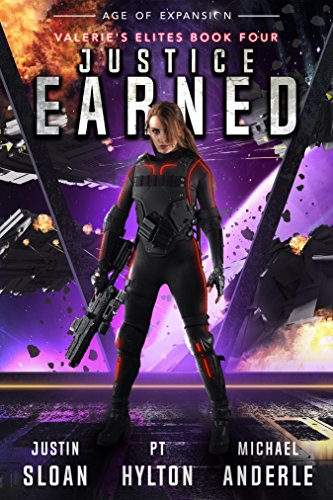 Justice Earned: Age of Expansion - A Kurtherian Gambit Series (Valerie's Elites Book 4) cover