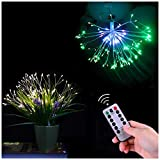 Prosense LED Branch String Lights, 198 LEDs 8 Modes Plug in Decorative Branch Fairy Lights for Parlor Bedroom Wedding Birthday Party Christmas Tree Deco (Muti-Color)