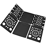 BOXLEGEND V2 shirt folding board t shirts clothes folder durable plastic laundry folders folding boards flipfold,Black