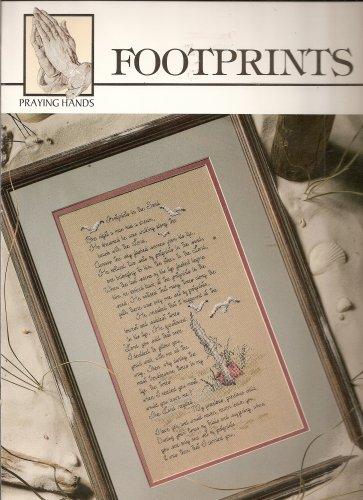 FOOTPRINTS (Praying Hands Series of Cross Stitch) ()