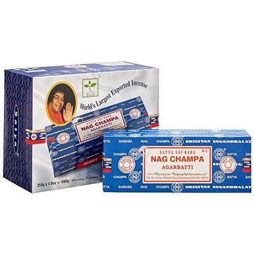 Sai Baba Nag Champa Incense (1,000g)