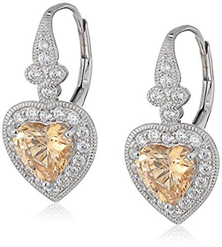 Antique Heart Earrings - 2