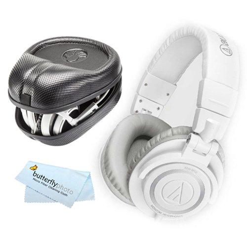 Audio-Technica-ATH-M50XBL-Professional-Monitor-Headphones-Blue-New-2014-Model-Slappa-Full-Sized-HardBody-PRO-Headphone-Case-SL-HP-07