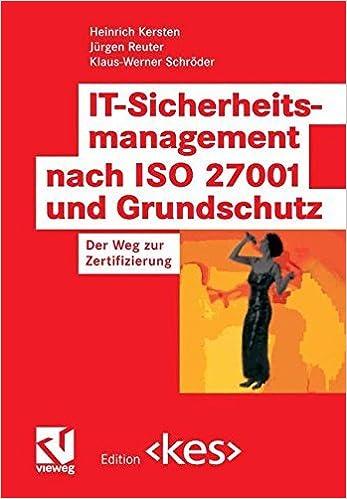 Amazon.com: IT-Sicherheitsmanagement nach ISO 27001 und Grundschutz ...