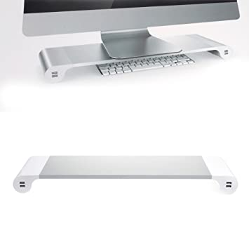 Soporte de monitor Spacebar – Organizador de escritorio con 4 ...