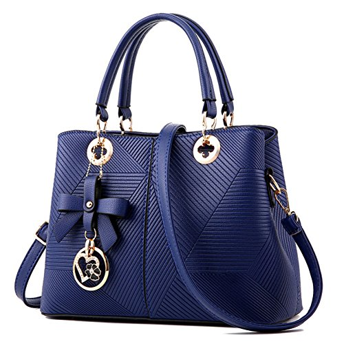 Bags Tote Shopping Bag Handbags Bag Shoulder Bags Blue Leather Bag Women's Women Fashion Handbag Women Bag Shoulder Clutches 8OvwxqSf