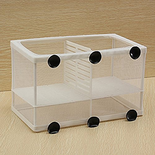 Corner Biz Aquarium - Dual Net Breeder Aquarium Fish Tank Breeding /Hatchery Kit by Corner Biz Aquarium