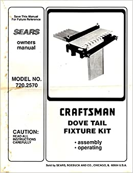 craftsman dovetail manual