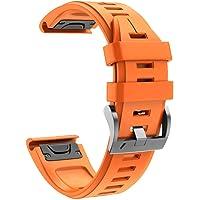 Cooljun Compatible avec Garmin Instinct,Sangle de Remplacement en Silicone Sport à dégagement Rapide Bracelet de Montre Facile