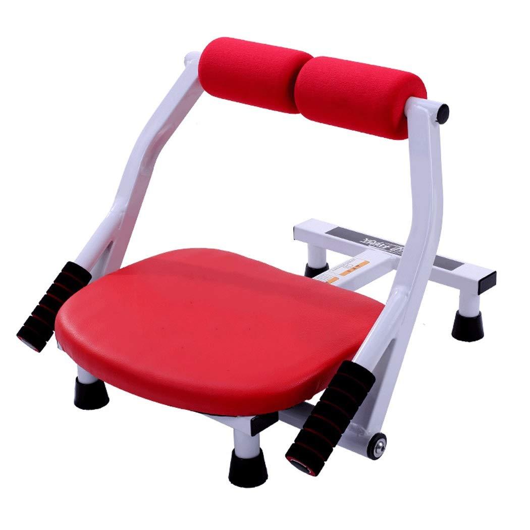 HUIFANG アメリカの腰多機能美容腰無料インストールホームフィットネス機器赤青 より強い動き  赤 B07Q9LTQNS