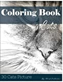 img - for Cat 30 Pictures, Sketch Grey Scale Coloring Book for Kids Adults and Grown Ups: Color me Coloring Book for Mindfulness and Stress Relief Relaxation (Volume 3) book / textbook / text book