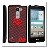 LG Escape 2 Case, Slim Fit Snap On Cover with Unique, Customized Design for LG Escape 2 H443, LG Spirit 4G LTE C70 H440N by MINITURTLE - Rubik's Illusion
