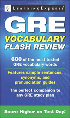 Gre vocabulary flash review learning express editors 9781576857816 gre vocabulary flash review fandeluxe Image collections