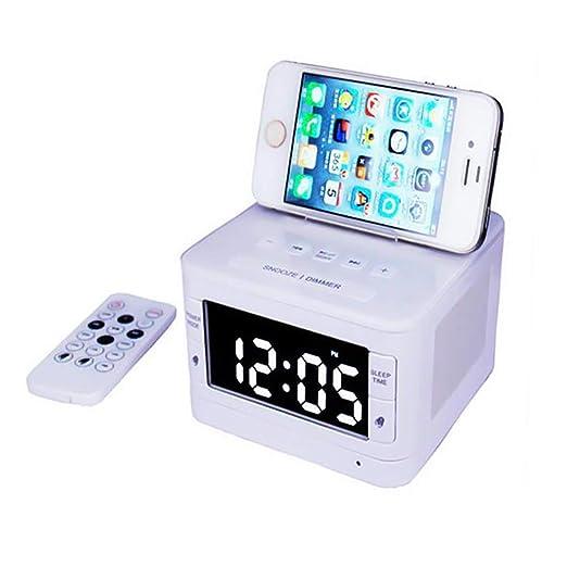 hll-036 Reloj de Cabecera Radio FM Altavoz Bluetooth ...
