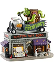 Lemax Village Collection The Creature's Custom Hot Road Shop # 05611