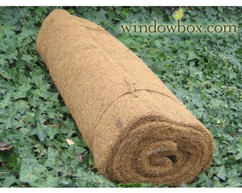 Coconut Coir Liner Roll - 50 Ft. by Windowbox
