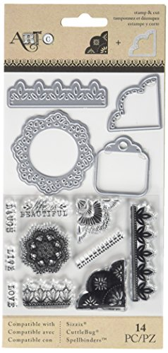 Momenta 25889 Stamp Set Doilies Lace product image