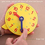 DHCHAPU Student Learning Clock Time Teacher Gear