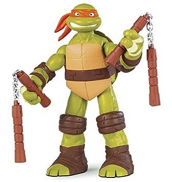 Tortugas Ninja - Figura Michelangelo, 28 cm (Giochi ...