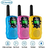 Walkie Talkies for Kids Toys Gift, 3 Pack Walky Talky for Kids Age 5-10 Years Old, Two Way Radio Toys