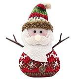 Christmas Tree Decorations, Jchen(TM) Happy Year Christmas Decor Christmas Santa Claus Doll Desktop Decoration Snowman Elk Christmas Tree Decoration (C)