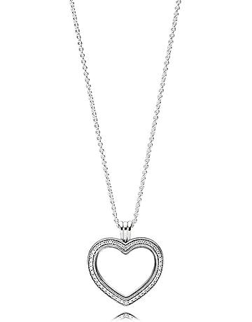 2e8a93a481b7 Pandora Colgante medallon Mujer plata - 397230CZ-60