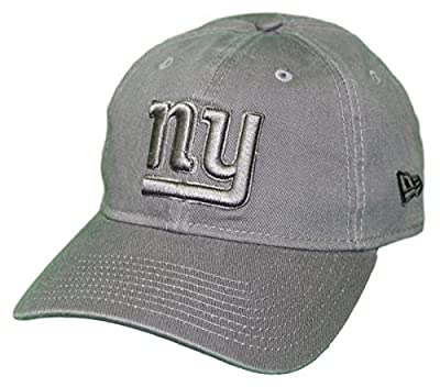 New Era New York Giants NFL 9Twenty Classic Tonal Adjustable Graphite Hat from New Era