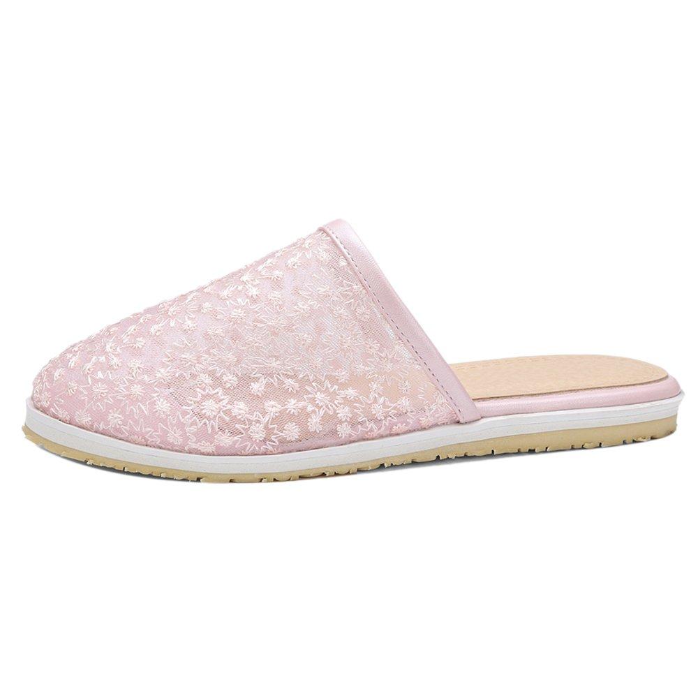 TAOFFEN Damen Clogs Sandalen Sommer Schuhe  40 EU|Pink