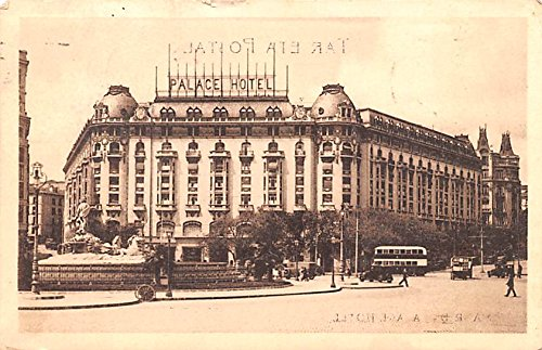 Palace Hotel Madrid Spain Postcard
