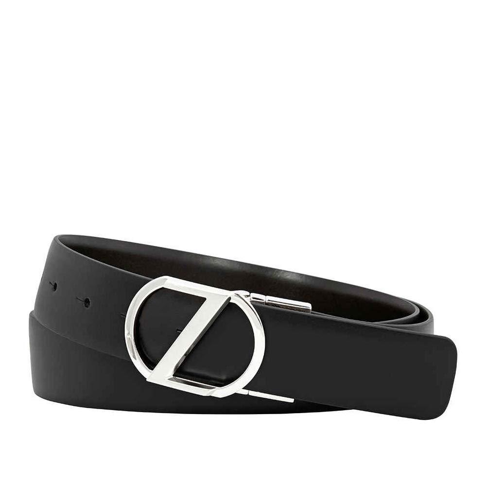 3e643ff675 Zegna Reversible Calfskin Leather Belt Black/Brown BZDLW3-9346-NTM ...