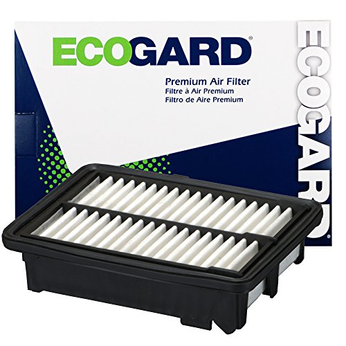 ECOGARD XA10424 Premium Engine Air Filter Fits 2015-2017 Honda Fit (Honda 2015)