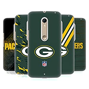 Official NFL Green Bay Packers Logo Hard Back Case for Motorola Moto X Style / Pure by Head Case Designs