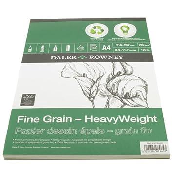 Fine Grain Eco Heavyweight Pad A5 200G 30SH