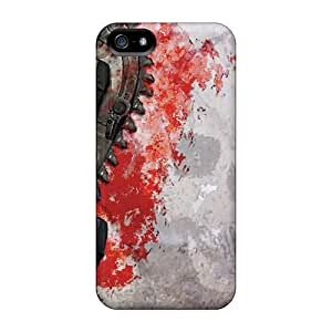 XBJ5505ImMU Faddish Gears Of War 3 Case Cover For Iphone 5/5s