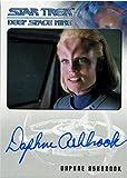 #9: Star Trek DS9 Heroes & Villains Autograph Card Daphne Ashbrook as M. Pazlar