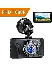 Dashcam Auto Dash Camera Auto Kamera Dash Cam Autokamera Mibao Full HD 1080P mit 170° Weitwinkelobjektiv, 3 Zoll LCD, G-Sense, WDR, 6G Lens, Loop-Aufnahme, Bewegungserkennung, Parkmonitor