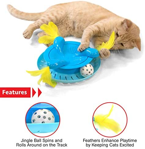 Kitty City Pop-up Cat Cube, Cat Tunnel, Cat Bed, Tunnel, Cat Toys, for Cat and Kitty 5