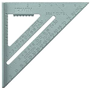 IRWIN Tools Rafter Square, Aluminum, 7-Inch (1794464)