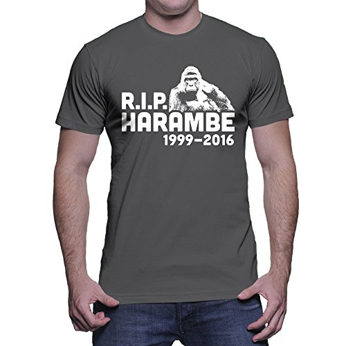 HAASE UNLIMITED Mens Harambe T Shirt