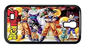 Custom Design Dragon Ball Z Protective Case Cover for Samsung Galaxy S4 (WCA Designed)