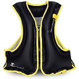OMOUBOI Snorkel Vests Adults Inflatable Floatage Jackets Lightweight Kayak Buoyancy Vest Portable Floatage Vests for…