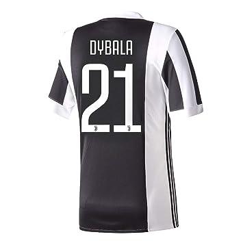 Casa de la Juventus Dybala camiseta No21 2017 2018 (oficial ...