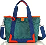 Noble Mount Colorsplash Nylon Tote – Peacock Green, Bags Central